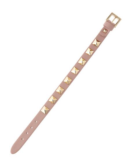 Small Rockstud Bracelet, Pink