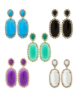 Kendra Scott Parsons Clip-On Earrings