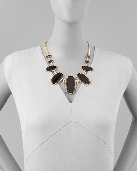 Ginger Necklace, Black
