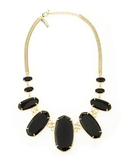 Kendra Scott Ginger Necklace, Black