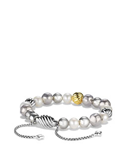David Yurman Spiritual Bead Bracelet, Pearl, 8mm