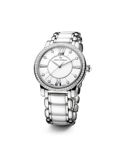 David Yurman Classic 38mm Quartz, White Ceramic
