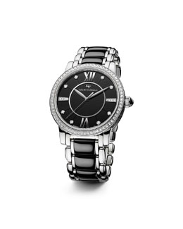 David Yurman Classic 38mm Quartz, Black Ceramic