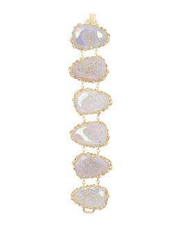 Kendra Scott Luxe Branch-Bezel Druzy Bracelet