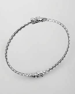 John Hardy Naga Silver Dragon Bangle
