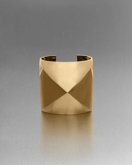 Tribal Pyramid Shape Cuff