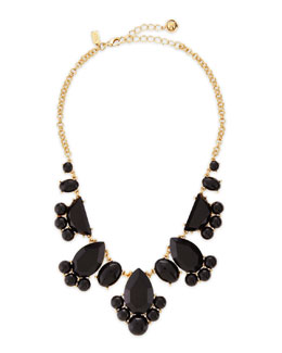 kate spade new york day tripper necklace, black