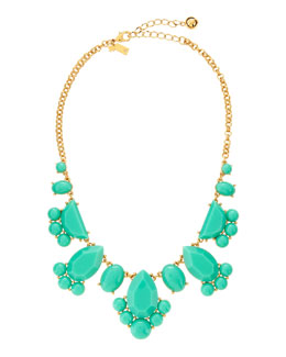 kate spade new york day tripper necklace, turquoise