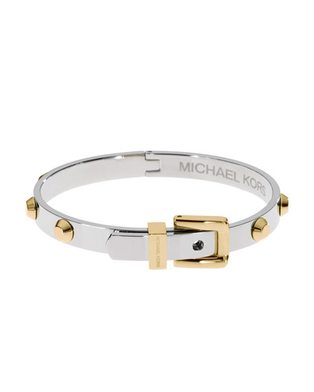 TWO TONE ASTOR BANGLE