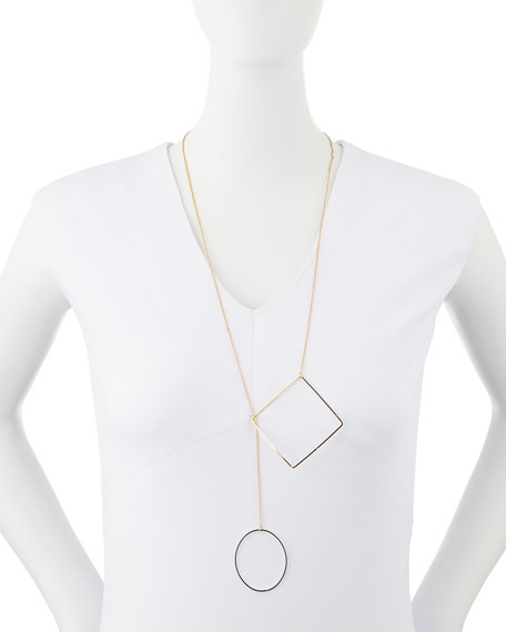 Keep Me Lariat Necklace