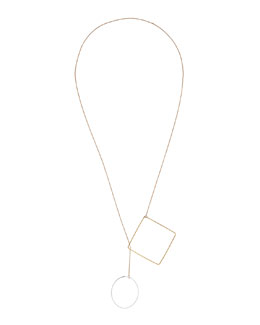 Jules Smith Keep Me Lariat Necklace