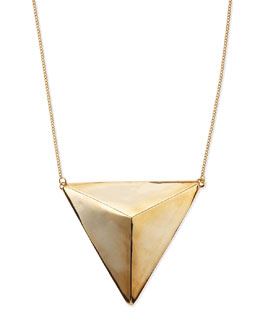 Jules Smith Lexington Pyramid Necklace
