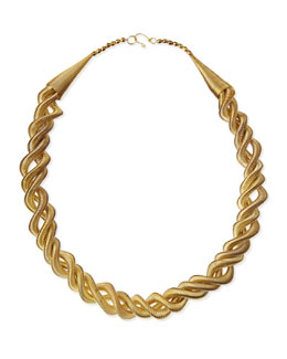 Rosena Sammi Double-Wrap Coil Necklace