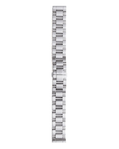 MICHELE 18mm Deco Stainless Steel Three-Link Bracelet