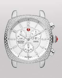 MICHELE ASC Ascalon Diamond Chronograph Watch Head