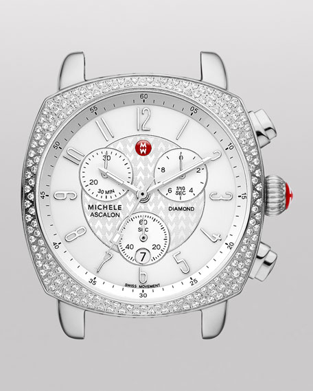 ASC Ascalon Diamond Chronograph Watch Head