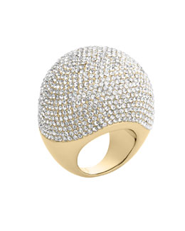 Michael Kors  Pave Bubble Ring, Golden