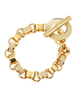 MARC by Marc Jacobs Enamel Toggle Bracelet, Cream