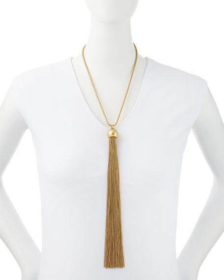 Big Tassel Necklace