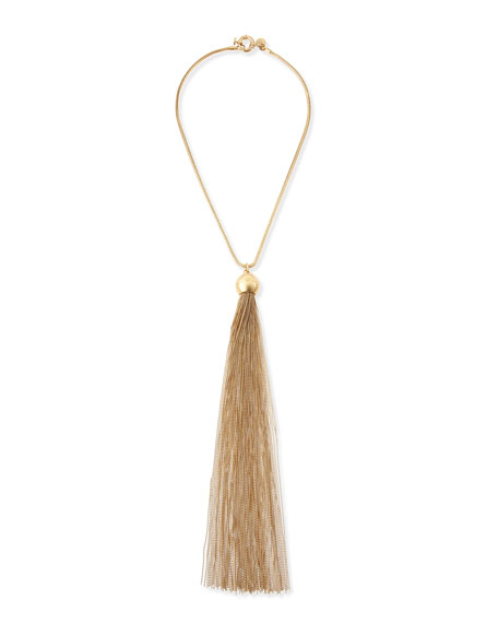 Big Tassel Necklace