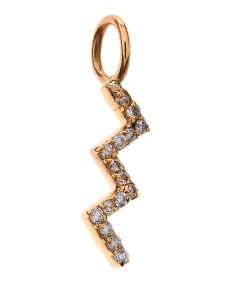 Aria Zigzag Diamond Charm