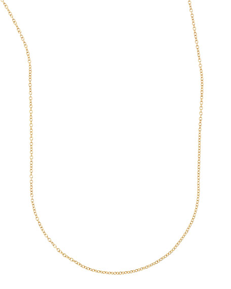 "Cable Chain Necklace, 36""L"