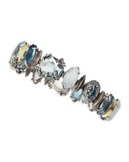 Alexis Bittar Fine Large Midnight Marquise Bracelet