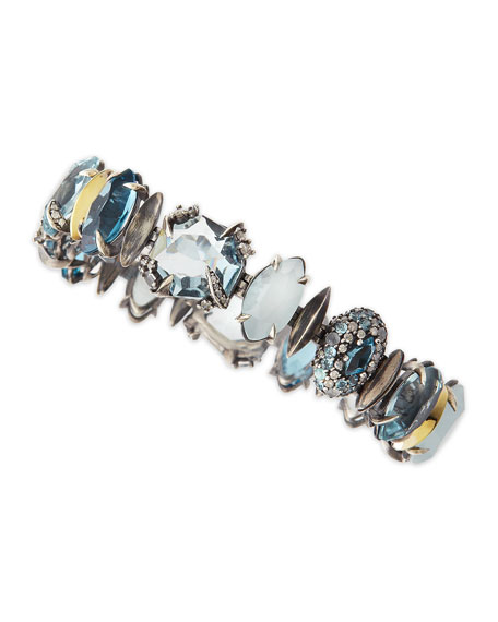 Large Midnight Marquise Bracelet
