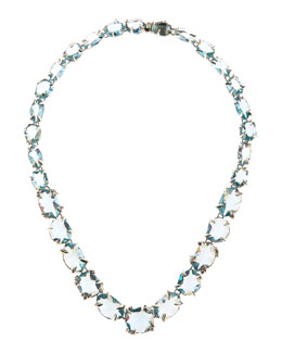 Alexis Bittar Fine Midnight Marquise Multi-Stone Necklace