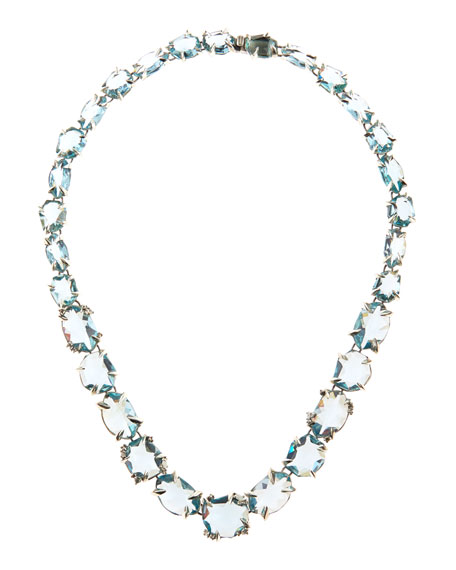 Midnight Marquise Multi-Stone Necklace