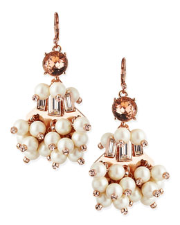 kate spade new york clink clink pearly beaded earrings