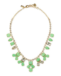 kate spade new york secret garden necklace, green