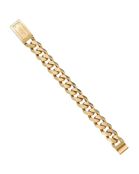 Small Chain-Link Bracelet, Golden