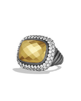 David Yurman Waverly Limited-Edition Ring with Diamonds and Gold