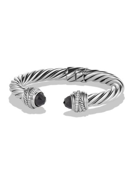 David Yurman Crossover Bracelet with Black Onyx and