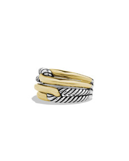 David Yurman Labyrinth Double-Loop Ring