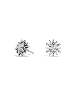 David Yurman Starburst Earrings with Diamonds