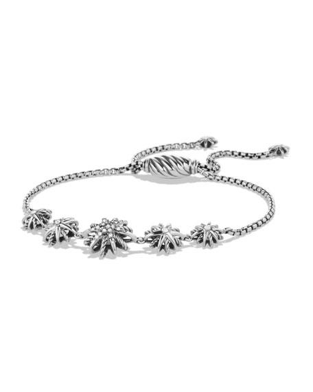 David Yurman Starburst Five-Station Bracelet with Diamonds