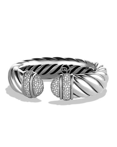 David Yurman Waverly Bracelet with Diamonds
