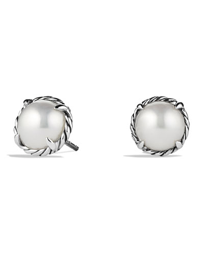 David Yurman Chatelaine Earrings with Pearls