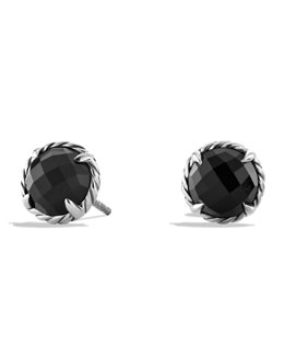 David Yurman Chatelaine Earrings with Black Onyx