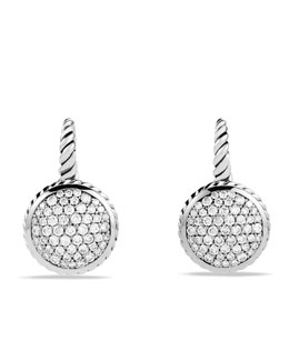 David Yurman Pavé Drop Earrings with Diamonds