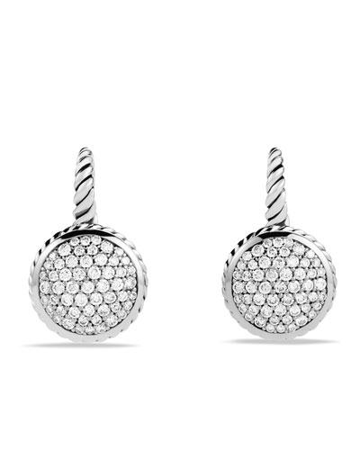 David Yurman Pavé Drop Earrings with Diamonds