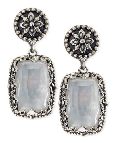 Konstantino Aura Mother-of-Pearl Rectangle Earrings