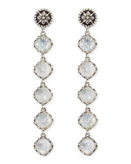 Konstantino Aura 5-Stone Mother-of-Pearl Drop Earrings