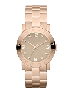 MARC by Marc Jacobs Amy Matte Rose Golden Watch