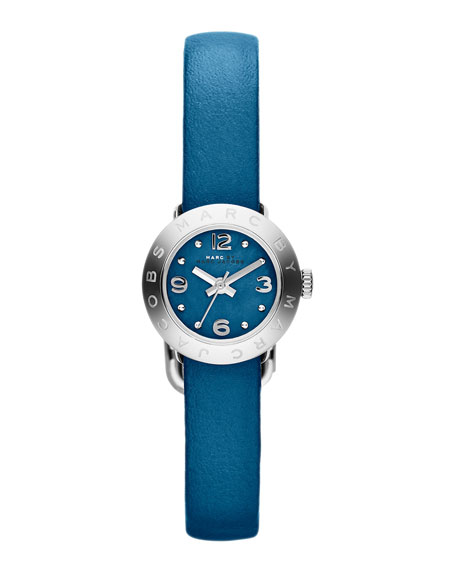 20mm Amy Analog Watch with Teal Strap, Stainless