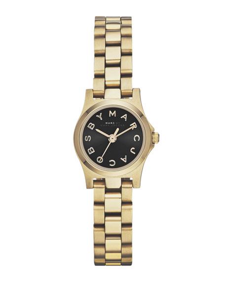 Henry Dinky Analog Watch, Light Golden