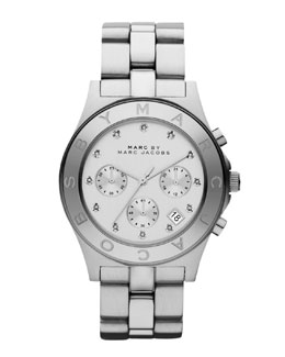MARC by Marc Jacobs Blade Stainless Steel Chronograph Watch