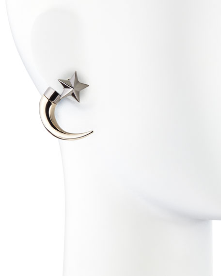 Single Small Star Shark-Tooth Earring